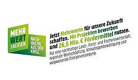 Logo Mehrwert Sachsen - Nachhaltig aus der Krise